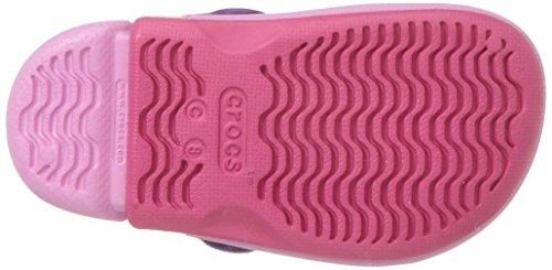 Iii Electro Rosa carnation Bambini Zoccoli – Crocs Pink paradise Unisex Clog Kids q5UUa