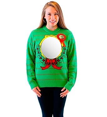 Amazon.com: Mirror Ugliest Sweater Award Adult Green Ugly ...