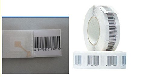 Checkpoint Compatible 1.5'' RF Labels Barcode Style 1,000-Roll NEW by ALL-TAG (Image #1)