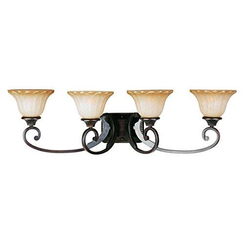 UPC 783209051881, Maxim Lighting 13514WSOI, Allentown, 4 Light Bath Vanity, Oil Rubbed Bronze