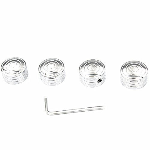 Billet Head Bolt Covers - Chrome Head Bolt Headbolt cover kit For Harley Electra Sport Glide Low Rider Wide Glide Tour Glide Heritage Softail Motorcycle