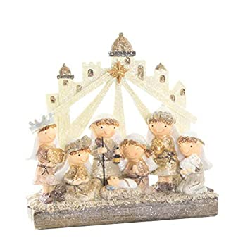 Fotos Del Nacimiento De Navidad.Portal De Belen Nacimiento De Navidad En Resina 2 Modelos A