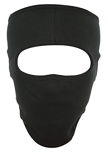 H-Store Unisex Lycra Face Mask (hstoreblackfacemask, Black)