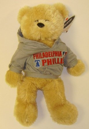 3b014aa3a65 Image Unavailable. Image not available for. Color  Philadelphia Phillies MLB  Large 14   Plush Bear