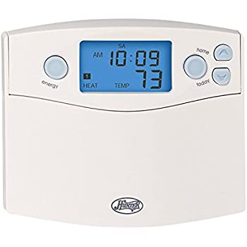 hunter 44360 set and save 7 day programmable thermostat rh amazon com Hunter Thermostat Settings Manual Hunter Programmable Thermostat