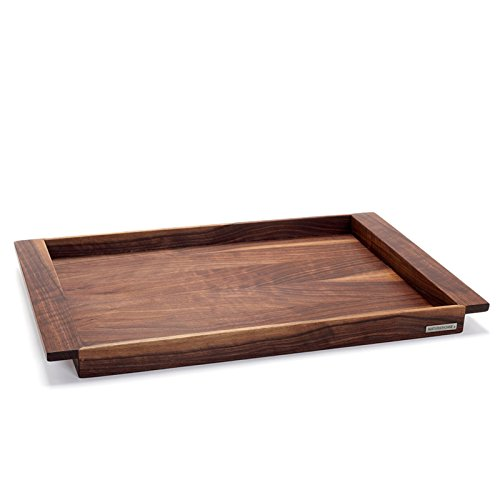 NATUREHOME Wooden Serving Tray NH-E - Solid Walnut - 25.39