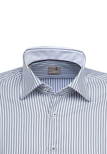Seidensticker -  Camicia Casual  - A righe - Classico  - Uomo