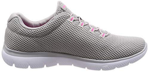 Pink Gris Gyhp hot Zapatillas Summits Para Mujer grey Skechers nwxFpRUqq