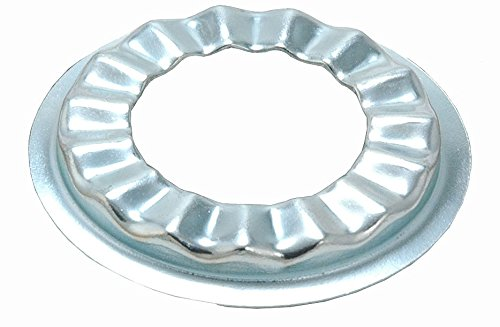 1/2-Inch Flat Style Rosette Faucet Washer, Cadmium-Plated Steel - by PlumbUSA