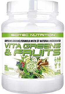 Scitec Vita Greens & Fruits Fórmula De Verduras, Vitaminas Y ...
