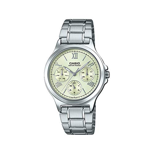 Casio Enticer Ladies Analog White Dial Women #39;s Watch LTP V300D 9A1UDF A1698