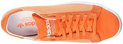 adidas Courtvantage, Chaussures de Gymnastique Homme - Orange - Arancione, 40 EU