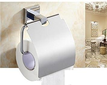 LIN bicromatado de potasio-chapado en cobre de aspersión de agua/hardware de baño, toalla de baño colocar pendientes rack: Amazon.es: Hogar