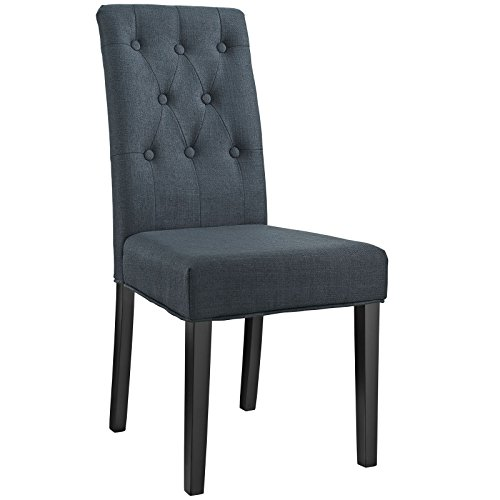 Modway Confer Dining Fabric Side Chair, (Upholstering Dining Room Chairs)