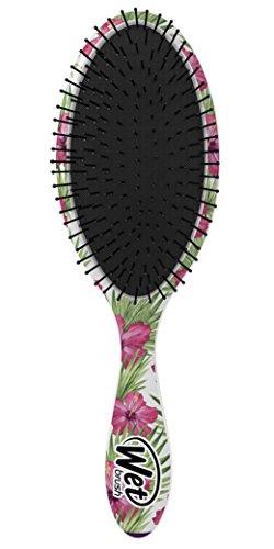 Wet Brush Hair Brush Detangler, Pink Floral, 0.2 Pound