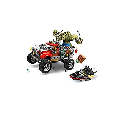 COMIC / SUPERHERO|JUSTICE LEAGUE Lego Batman Killer Croc Tail-Gator: Toys & Games