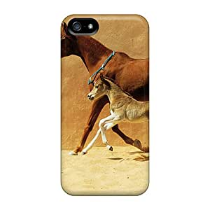 Faddish Phone Mare And Foal Case For Iphone 5/5s / Perfect Case Cover
