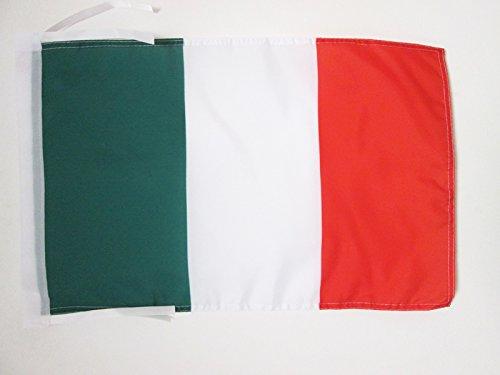 - AZ FLAG Italy Flag 18'' x 12'' Cords - Italian Small Flags 30 x 45cm - Banner 18x12 in