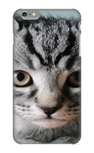 Hot Sfmmhh-2879-nlitajo Case Cover Protector For Iphone 6 Plus- Animal Cat/ Special Gift For Lovers Kimberly Kurzendoerfer