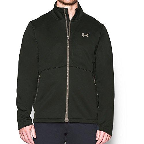 (Under Armour Outerwear Men's ColdGear Softershell Jacket, Artillery Green, Small)