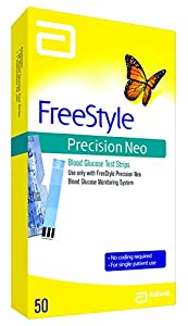 Freestyle Precision Neo Blood Glucose test strips, 0.073 Pound