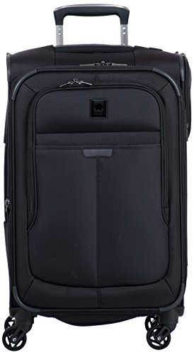 Delsey Luggage Helium Pilot 3.0 Carry-On Expandable Spinner Trolley, Black, One Size - Pilot Trolley