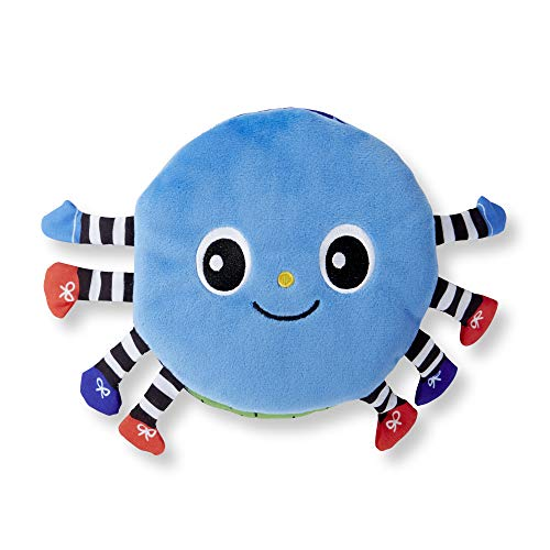 - Melissa & Doug Soft Activity Book - Itsy-Bitsy Spider (Interactive Cloth Baby Book)