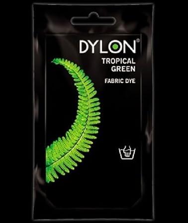 Dylon – Tinte Color Verde Tropical material de tela de ...