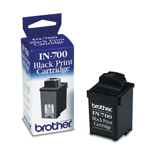 2030 Inkjet - Brother IN-700 Black InkJet Cartridge, Works for DP 525cj, DP 540cj, DP 540cj Mail, WP 6400j