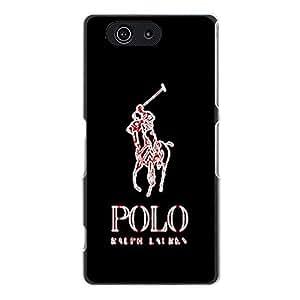 Classic Design Ralph Lauren Logo Phone Case Delicate Stylish Phone Case Cover for Sony Xperia Z3 Compact Ralph Lauren Logo