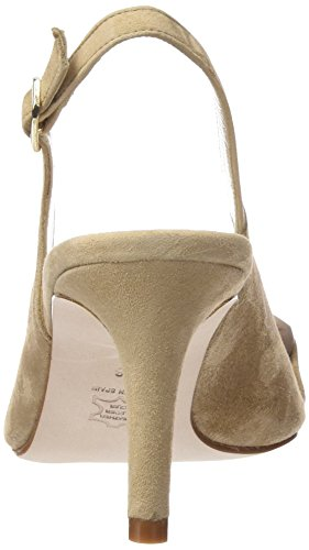 Paco Gil P3058, Women's Sling Back Sandals Brown - Braun (Taupe)