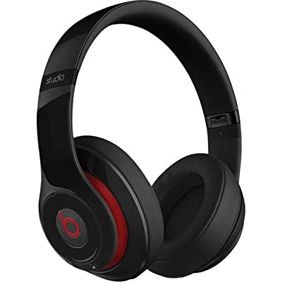Beats by Dr. Dre Studio Over-Ear Headphones (Second Generation, Black) Bundle with Beats USB Cable (Type A To Micro B) and Custom Designed Zorro Sounds Cleaning Cloth
