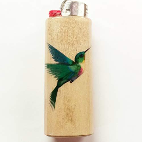 Hummingbird Lighter Case Holder Sleeve Cover Fits Bic Lighters