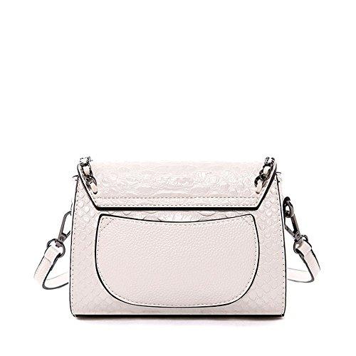Simple Strap Sunbobo Shoulder Zipper Bag Black PU Messenger Buckle Shoulder Retro Tassel PU Bag YxdqwXrdSC