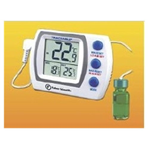 WP000-666423 666423 666423 Thermometer Lab Traceable Refrigerator/ Freezer Dgt LCD C Ea From Fisher Scientific Co. by 666423
