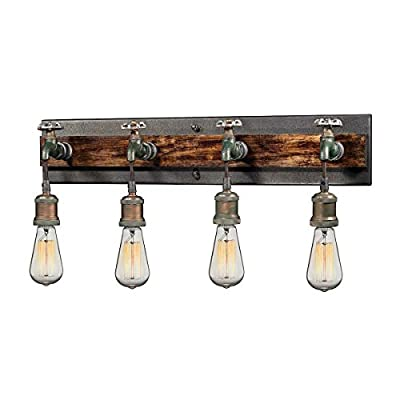Elk Lighting 14283/4 Vanity fixtures, Rust