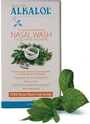 Alkalol Nasal Wash Kit 16 oz (Pack of 10) by Alkalol