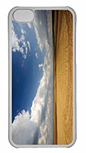 Customized iphone 5C PC Transparent Case - Field 2 Personalized Cover