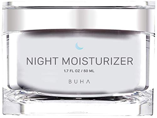 Retinol Night Moisturizer Cream for Face 2.5% with Collagen & Peptide Complex for Wrinkles, Fine Lines, Skin Tone & Acne Scars. Improves Skin Elasticity and Boosts Natural Collagen Production - 50ML.