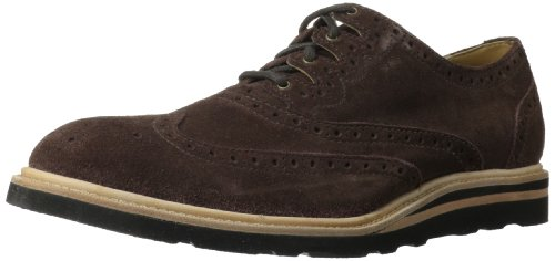 Cole Haan Men's Christy Wedge Gilley Oxford,Snuff Suede,10 M US