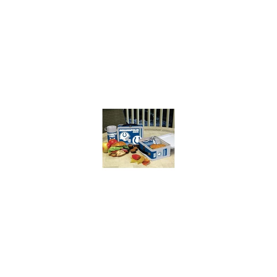 Indianapolis Colts Nostalgic Tin Lunchbox with Team Spirit