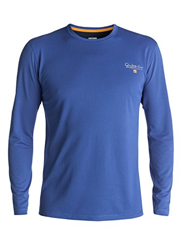 퀵실버 Quiksilver Waterman Mens Gut Check Ls Surf Tee