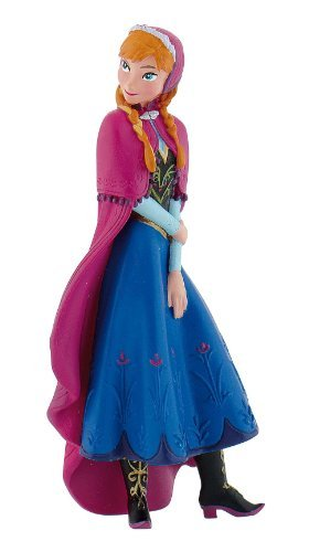 Amazoncom Disney Frozen Exclusive Loose Mini PVC Figure Anna Cake