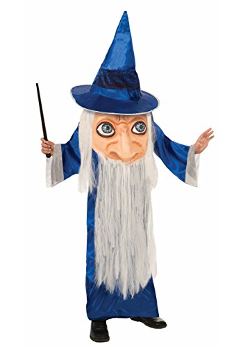 [Forum Novelties Big Face Wizard Costume, One Size] (Merlin Costumes)