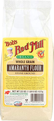 (Bob's Red Mill Organic Whole Grain Amaranth Flour (1 Item)