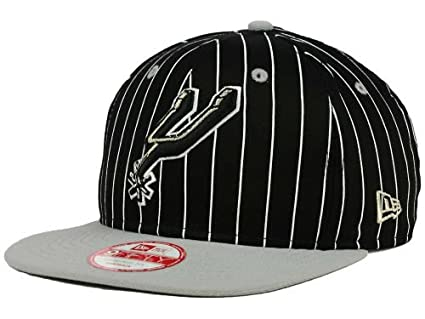huge selection of 4ab58 3c046 Image Unavailable. Image not available for. Color  New Era San Antonio  Spurs Snapback Adjustable One Size Fits All NBA Authentic Snap Back Vintage