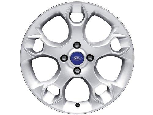 Rims Sparkle Silver 1817293 Genuine Ford Fiesta Alloy Wheel 17 x 7 8-Spoke Design