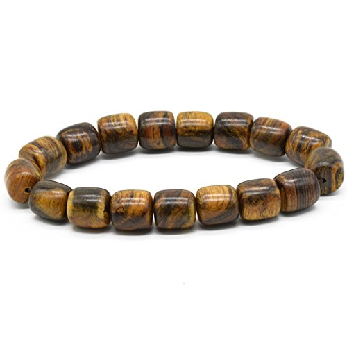 [Rel Goods Unisex Follow Qinan Agarwood Beads Necklace Mala Bracelet Link Prayer Bead Tibetan Buddhism Natural Wood (12mmBB17)] (Couples Halloween Costumes Pinterest)