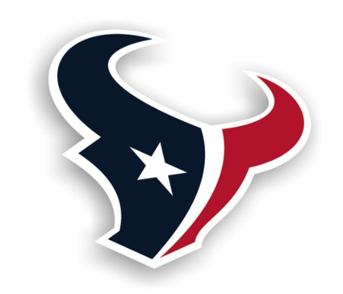 NFL Houston Texans 12-Inch Vinyl Logo Magnet