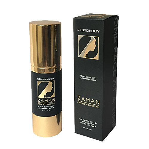 (Zaman Skincare Night Face Cream, Sleeping Beauty Anti-Aging Face Serum, Best Black Cumin Seed Oil & Vitamin C Serum for Women, All Natural Organic Face Moisturizer for Pore, Age Spots, Wrinkle Reducer)
